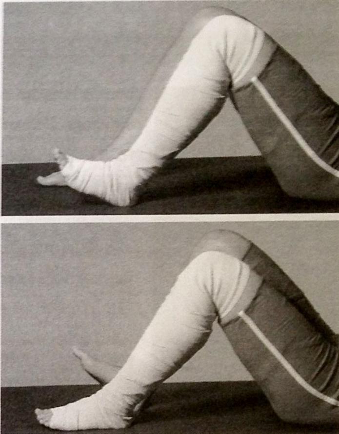 Гимнастика после эндопротезирования коленного сустава дома